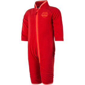 Color Kids Timpi Mini Fleece Combinaison de protection Enfant, racing red